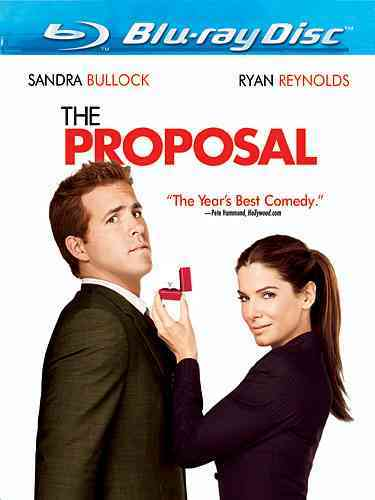 PROPOSAL BY BULLOCK,SANDRA (Blu-Ray)